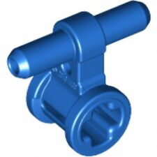 LEGO - Pneumatic Hose Connector with Axle Connector (X2) - Blue