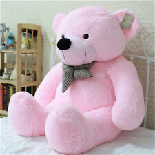 Nice Stuffed Giant Big Pink Plush Teddy Bear Huge Soft 100% Cotton Doll Soft