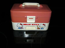 Vintage Hello Kitty Jewelry Music Box Sanrio 1983 CBS Toys Child Guidance