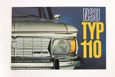 Prospekt NSU Typ 110