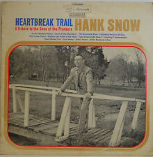 "HANK SNOW - HEARTBREAK TRAIL- RCA RECORDS LPM-3471 12"" LP(X 224)"