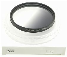 72mm GRAD ND FILTER GRADUATED NEUTRAL DENSITY NEW