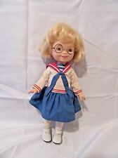 Mary Engelbreit Doll Ann Estelle in Sailor Outfit Playmate 1997 Blonde Glasses