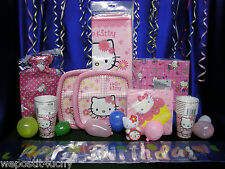 Hello Kitty Party Set # 15 Hello Kitty Party Supplies Tablecloth Toppers Favors