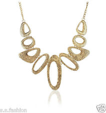 New Fashion Gold Color Geometry Shape Water Drop Necklace  Fashion Necklace.