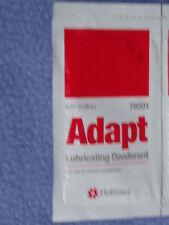Hollister #78501 ADAPT Lubricating Deodorant Individual Packets - Lot of 25 New!