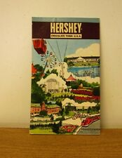 HERSHEY's MILK CHOCOLATE TOWN vtg scribble-pad Pennsylvania lodge 1960s notepad