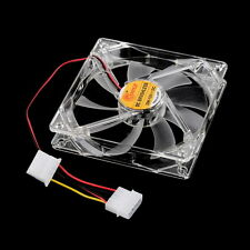 New Cool & Quiet 120mm Fans 4 Blue LED Light Up for Computer PC Case Cooling LF