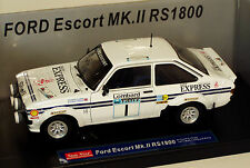 1/18 Ford Escort Mk2 RS1800 Daily Express Lombard RAC Rally 1977  Roger Clark