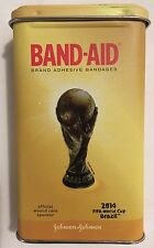 Limited Edition 2014 BRAZIL FIFA SOCCER WORLD CUP Metal Box Collector Football