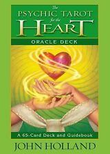 The Psychic Tarot for the Heart Oracle Deck by John Holland (2014, Other)