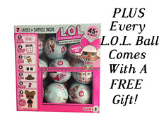 LOL LIL Outrageous Littles Doll Surprise Series 1 BALL - New Sealed SHIPS NOW