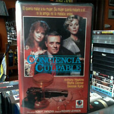 CONCIENCIA CULPABLE (Richard Levinson) VHS . Anthony Hopkins Blythe Danner