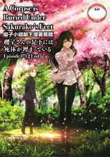 A Corpse is Buried Under Sakurako's Feet DVD Complete 1-12 - USA Ship Fast