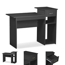 Student Computer Desk Home Office Wood Laptop PC Table Study Workstation Dorm