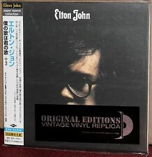 JAPAN Made CD UICY-9101: ELTON JOHN - Elton John (self titled) - OBI 2001 OOP SS