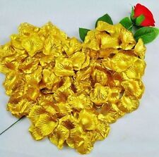 100 Silk Fabric Rose Petals–Engagement Wedding Easter Table Confetti Decorations