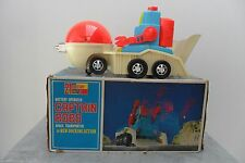 Rare Captain Robo Robot Battery Operated by Yonezawa Made in Japan 1960's Box