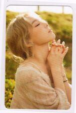 SNSD Girls' Generation TAEYEON 1st Album I SMTOWN Photocard New F/S G339