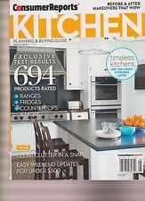 CONSUMER REPORTS KITCHEN Planning & Buying Guide May 2016, TIMELESS KITCHENS.