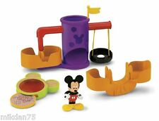 Fisher Price Mickey Mouse Clubhouse Playground Set Playset and Figure
