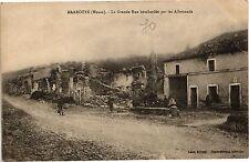 CPA  Marbotte (Meuse) - La Grande Rue bombardée par les Allemands  (178898)