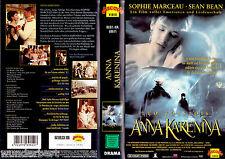 """VHS - """" Anna KARENINA """" (1997) - Sophie Marceau - Sean Bean"""