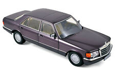 Mercedes-Benz 560 SEL 1991 - Purple Metallic1:18 Norev 183544