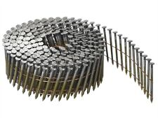 COIL NAILS 2.3 x 50mm GALV FINISH, POINTED, FLAT TYPE COIL NAILS. 12.000/BOX
