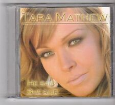 (GB95) Tara Mathew, He Said She Said - 2010 DJ CD