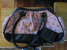 Baby Essentials Pink Fashion Diaper Bag 03/2011 Never used w/ tags & Photo album