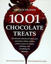 1001 Chocolate Treats Cookbook~Recipes & Photos~Drinks~Cookies~Pies~Cakes~Candy