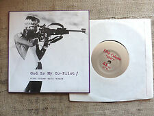 Fifth Column / God Is My Co-Pilot ‎– Split Single -- vinyl ‎ 7""