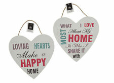 What I Love Most Heart wall Modern Placard Sign Message Home Decoration