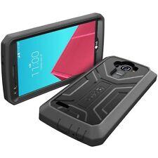 Poetic Revolution Armor Shockproof Hybrid Hard Phone Case Cover for LG G4 Black
