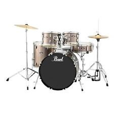 Pearl RS525SCC707 Roadshow Complete 5pc Drum Set w/ Hardware & Cymbals, Bronze