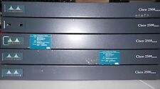 SURPLUS! Clearance Lot of 5 Cisco 2501 Routers
