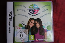 element girls Style your Life! - Nintendo DS - Deutsch - Komplett OVP Handbuch