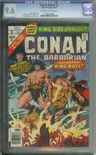 CONAN ANNUAL #3 CGC 9.6 OW/WH PAGES