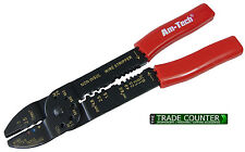 Am Tech 235mm Crimping Pliers - Tool with Stripper (B3320)