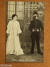 R&L Postcard: The Soldiers Wedding, W Melville, Very Warm, Miss Jujube!