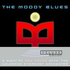 THE MOODY BLUES - A NIGHT A RED ROCKS - LIVE - DELUXE EDITION - 2 CD SET!