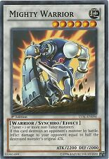 3 x Mighty Warrior (LVAL-EN096) - Common - Near Mint - 1st Edition