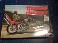 MPC835 1/8 Thunder Chopper Custom Motorcycle Plastic Model Kit slight box damage