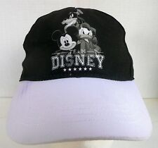 AUTHENTIC WALT DISNEY GOOFY MICKEY MOUSE DONALD DUCK BLK SOFT TODDLER CHILD HAT