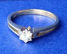 Ring mit Brillant Solitair 0,25 ct