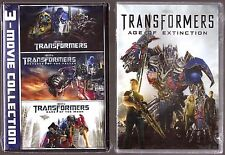 4-Movie Transformers Collection 1, 2, 3 & 4 - DVD - BRAND NEW