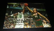 Detlef schrempf #92 Fleer 1997 seattle sonics nba trading card