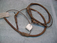 1935-36 Packard STD-8 Rear Brake cables.  Good Used. Pair.