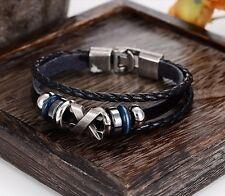 Unisex Design Leder Armband - Surfer Style - Neuware - Sonderpreis
